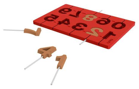 3D Numerotikkarimuotti