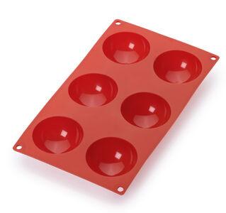 Puolipallo muotti, 6 koloa punainen