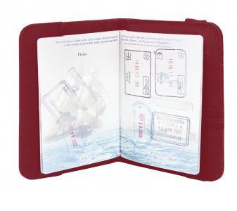 Passilompakko, RFID, punainen