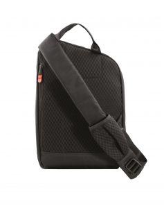 Sling-reppu, RFID suojattu, musta