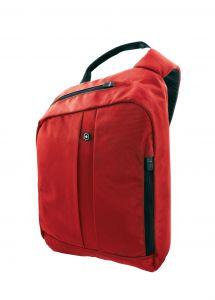 Sling-reppu, RFID suojattu,punainen