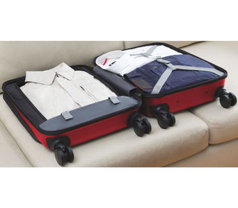 Spectra 2.0 Dual Carry-On, musta