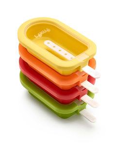 Jäätelömuotti,pinottava,oranssi