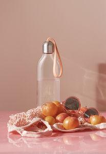 Litteä vesipullo 0,5 l Cantaloupe