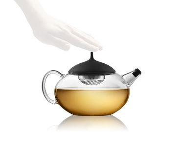 Teekannu, lasia