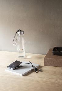 Juomapullo lasia 0,5 l musta