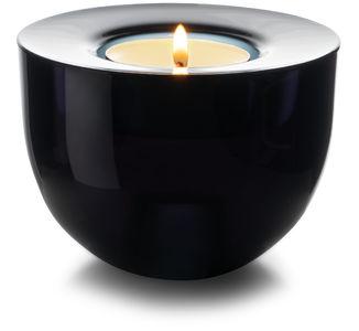 Marja Double -kynttilänjalka, musta