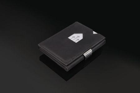 Nahkalompakko, Nubuck Black RFID