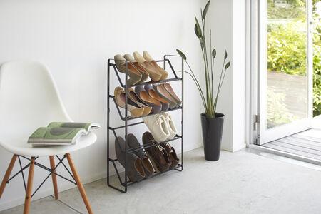 Frame kenkäteline 4 tasoa musta