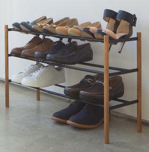 Plain kenkäteline pidennettävä must