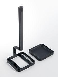 Tower pullonkuivausteline musta