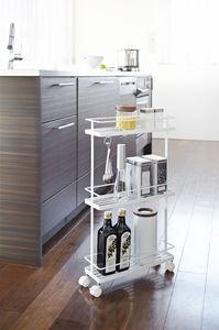 Tower keittiövaunu, valkoinen
